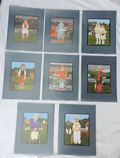 Set of Eight Sporting Heritage Prints - Peter Heard - Ready to Frame - NEW