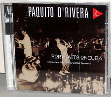CHESKY CD JD145: Paquito D'Rivera - Portraits Of Cuba - USA 1996 SEALED
