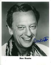 "DON KNOTTS DEPUTY BARNEY FIFE ON ""THE ANDY GRIFFITH SHOW"" SIGNED PHOTO AUTOGRAPH"