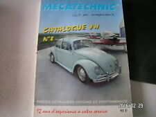 ** Mecatechnic Catalogue VW n°8 Pièces détachées origine et performance
