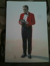 Military Postcard Sergeant Royal Regiment of Wales 1991 by Alix Baker
