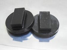 2 BMW Jack Pad Adapter BLACK E82 128i- M3 E46- 325i E90-328i E91-E92-E93-E39