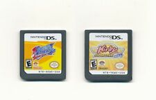 2pcs Nintendo Kirby Squeak Squad+Super Star Ultra DS Game Card for NDS DSI