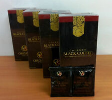 4 SCATOLE ORGANO GOLD BLACK COFFEE CAFFE NERO GANODERMA LUCIDUM