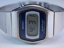 Vintage Ladies Seiko Time Corp. Quartz LC Digital Watch Model: L012- 5069