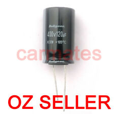 Capacitor 120uf 400V 105°C 18X30mm for ACER LCD Monitor Screen Repair Rubycon OZ