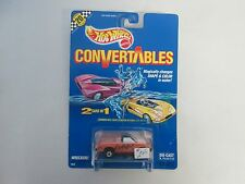 1991 Hot Wheels Convertables Wreckers Pick Up Truck w 20 speed points (black var