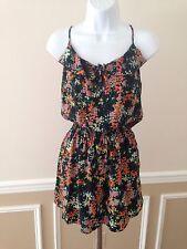 PARKER 100% Silk Floral Racerback Dress- Size S