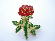 SALE RARE VINTAGE RED ROSE FOOTBALL ENGLAND RUGBY OLYMPICS TEAM GB PIN BADGE 99p