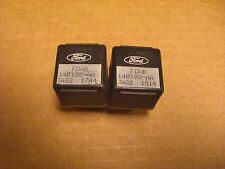 Ford FOAB-14B192-AA relays Utility Set of 2 Used Multi purpose Mustang F150 OK