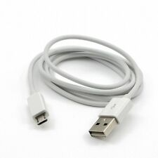 WHITE USB POWER CHARGING CHARGER CABLE FOR SONY XPERIA E C1504 C1604 M C1904 Z1S
