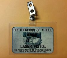 Fallout ID Badge - Brotherhood of Steel Laser Pistol Cosplay prop costume
