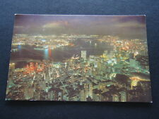 HONG KONG BIG NIGHT GLIMMERS LIKE STARS POSTCARD