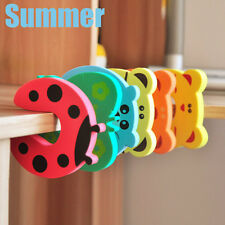 Hot 7pcs Bendy Cartoon Door Drawers Cupboard Safety Lock For Child Kids Baby