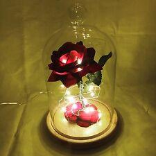 """La Bella Y La Bestia inspirado """"encantado Rose"""