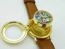 "MICKEY MOUSE,& Friends,""Opening Day TOONTOWN,Park Exc,RARE MENS POP WATCH R7-07"