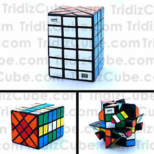 4x4x6 Fisher Calvins Black Cuboid Puzzle Cube Twisty Toy 6x4x4 - US Seller -