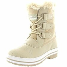 NEW Women's Winter Boots Snow Fur Warm Insulated Waterproof Fashion Shoes Size 9