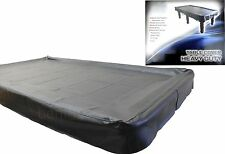 Black Heavy Duty 7ft TABLE COVER - Pool Snooker Billiards Balls Cues