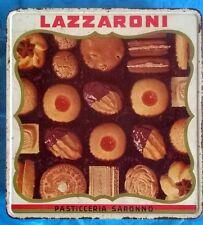 SCATOLA LATTA LAZZARONI - Vintage anni '60 - RARA!