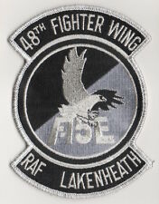 USAF Patch 48th FIGHTER WING, F-15E RAF LAKENHEATH - Large 5.75""