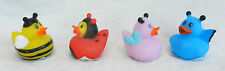 Bug/insectes/butterfly rubber bath duck-bnwt