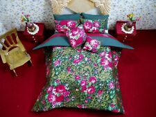 7 Pc Bedding Set -  for 1:12 Scale Dollhouse