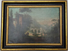 OLD MASTER CLASSICAL LANDSCAPE OIL PAINTING ON CANVAS - CHRISTIE'S PROVENANCE