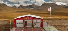 "BK 4814 1:48 Scale  ""Fire Department"" Photo Real Scale Building Kit"