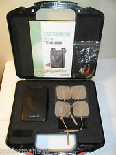 TENS 3000 Transcutaneous Nerve Stimulation massage back,leg,hip pain FREE SHIP