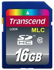 16GB Transcend Industrial Grade SDHC CL10 memory card SDHC10M