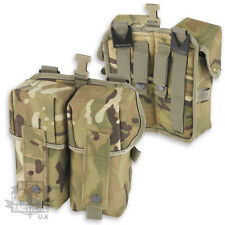 MTP MULTICAM PLCE PARA DOUBLE AMMO POUCH BRITISH ARMY WEBBING OSPREY