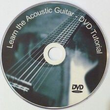 Learn to play Acoustic Guitar - Instruction DVD Video Lessons FREE P&P