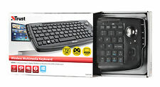 TRUST 17911 WIRELESS ENTERTAINMENT US KEYBOARD FOR SMART TV XBOX PLAYSTATION PC
