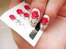 12 Stk Water Transfer Nail Art Full Cover Sticker Nagel Tattoo Aufkleber Design