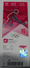 Ticket collectors Olympic London 2012 Field Hockey Australia Spain Argentina GBR