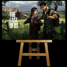 """The Last Of Us Ps4 Canvas Wall Art 20"""" x 12"""" .......Ps4 Game,Ps3 Game........NEW"""