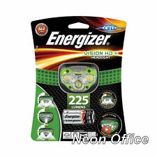 Energizer Vision HD+ LED Headlight Hands Free Headtorch 225 Lumen Headlamp