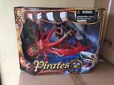 OCTOPUS PIRATES EXPEDITIONS SHARK KIDS TOY, Fab Xmas Present, Free P&P!!