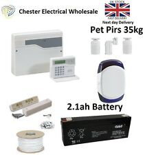 Honeywell Accenta Mini G4 LCD Burglar Intruder Alarm Kit House 3 x Pet Pirs 35kg
