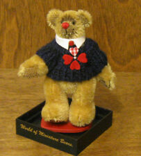 World of Miniature Bears #1049 BIG AL, by Becky Wheeler, NEW from Retail Store