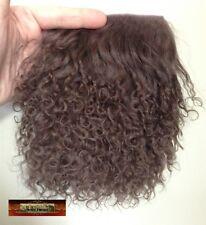 M00594 MOREZMORE Tibetan Lamb Fur MILK CHOCOLATE BROWN Premium Doll Hair T20