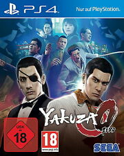 PS4 Spiel Yakuza Zero (Sony PlayStation 4, 2017) Top Game