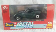 BMW  Z1 from 1990 Revell Metal 1;24 Scale Die-Cast Model Metallic Green