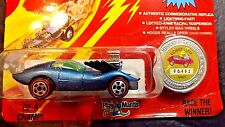 1993 JOHNNY LIGHTNING VICIOUS VETTE BLUE COMMEMORATIVE LIMITED ED CHALLENGER