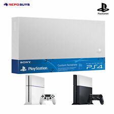 Sony PS4 Custom Faceplate Genuine Sony PlayStation 4 Faceplate HDD Cover Silver