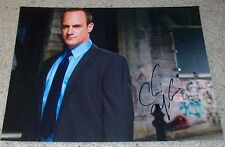 CHRISTOPHER MELONI SIGNED AUTOGRAPH LAW & ORDER SVU 11x14 PHOTO w/EXACT PROOF