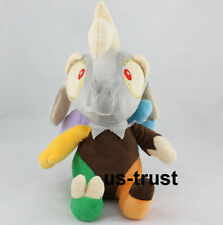 My Little Pony Rainbow Horse Discord Soft Plush Toy 12inch Christmas Gift