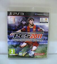 JEU SONY PLAYSTATION 3 PS3 - PRO EVOLUTION SOCCER 2011 COMPLET REF 108