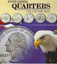 State Series Quarters Collector Map by Not Available,[Hardcover] BRAND NEW (BAM)